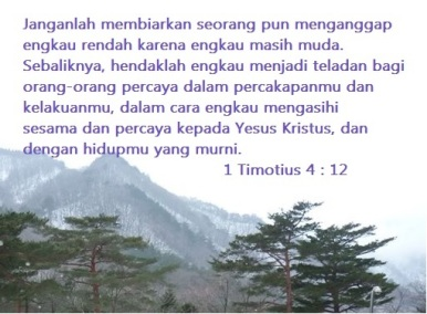 Pelayan muda Yesus Kristus
